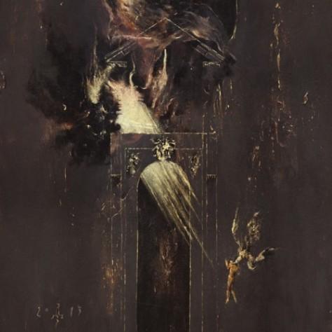 erebus enthroned album cover