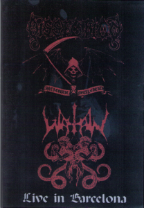 Flyer, Dissection live in Barcelona