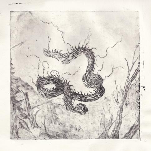 Nadra - Allir Vegir Til Glötunar (album cover)